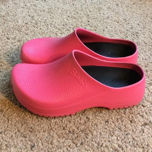 e37d2d78343f Birkenstock Shoes - Pink Super Birkis Nursing Clogs